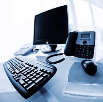 Dator på kontor