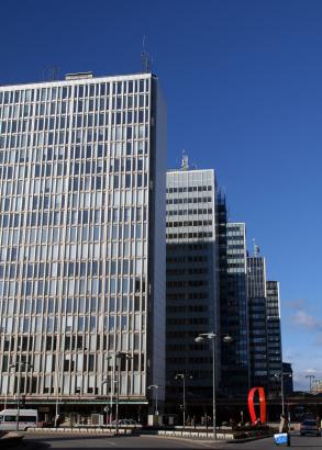 Kontorskomplex i Stockholm