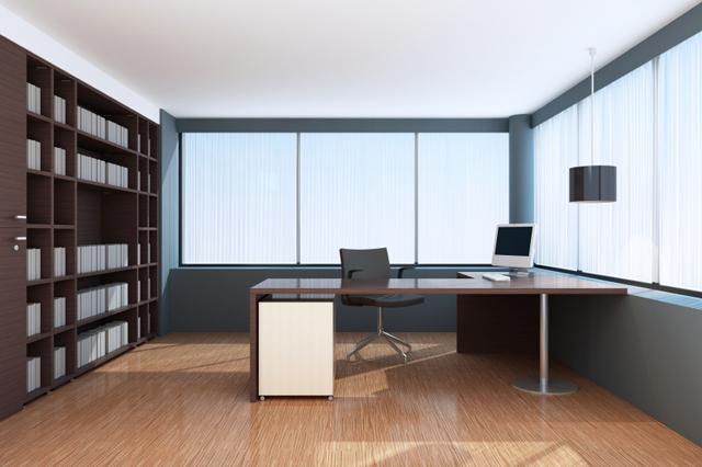 Modern kontorsinredning